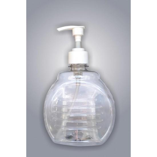 Fľaša na mydlo NR 68, PET číra, 500ml