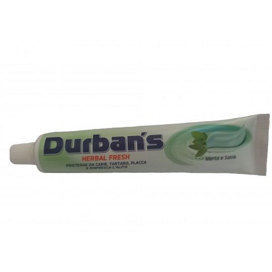 ZUBNÁ PASTA - DURBAN´S dentifricio Herbal Fresh, 75ml