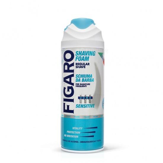 PENA NA HOLENIE - FIGARO schiuma barba Sensitive, 400ml