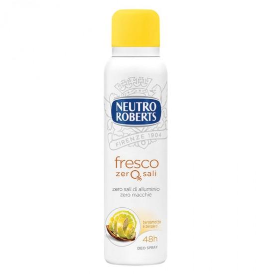 DEO SPRAY - NEUTRO ROBERTS deo spray Fresco zer0% sali, 150ml