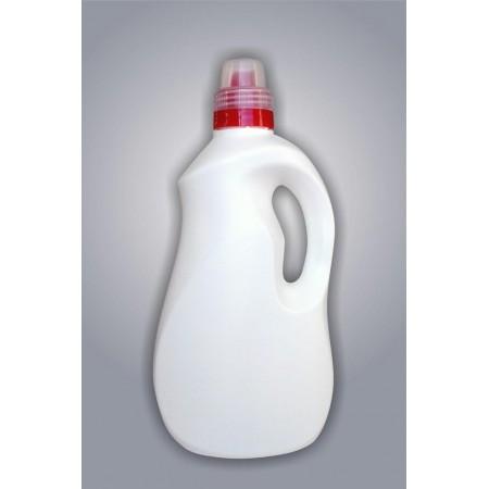 Fľaša EXPERT biela HDPE 1,5l + uzáver