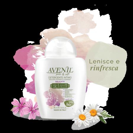 INTÍMNY GEL - AVENIL IGIENE INTIMA LATTE  & AVENA, 250 ml, 300ml