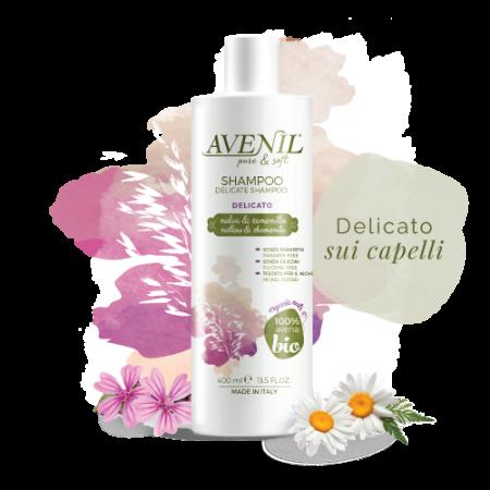 ŠAMPÓN - AVENIL shampoo DELICATO, 400 ml